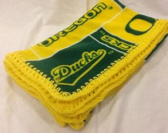 Oregon Ducks Baby Blanket