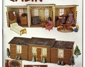 Items Similar To Annies Attic Fashion Doll Country Cabin