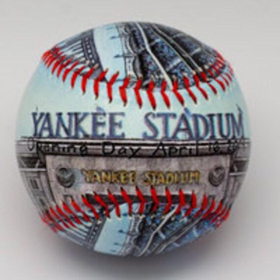 yankee stadium baseball yankees fan gift ny by unforgettaballs