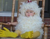 Sale Today ONLY  Feathered Chicken Halloween Costume Boys Girls Unisex Baby Infant Toddler Kids Size 0-3m ,3-6m, 6-12m ,12-18m, 8-24 months