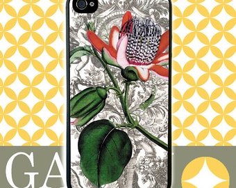 iPhone 6 Case, iPhone 6 Plus Case, iPhone 6 Edge Case, iPhone 5 Case, Galaxy S6 Case, Galaxy S5 Case, Galaxy Note 5 - Passion Flower 1700's