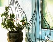 New Orleans Hurricane Wrought Iron Trellis Topiary