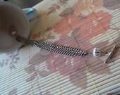 Romantic stainless steel bracelet (vintage style)