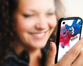 The Power of Pink Gorilla - Stickers for iPhone 4 and 4S