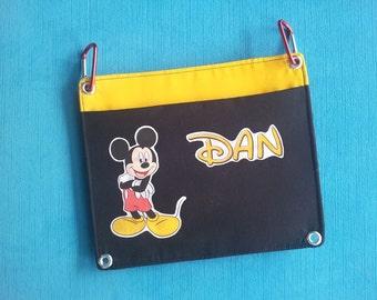 Add-on Fish Extender Pocket - DCL - Disney Cruise - Interchangeable - Flexible - FE - Custom - Additional pocket