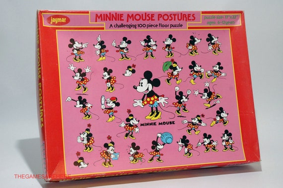 Minnie mouse 100 piece floor puzzle from jaymar by for 100 piece floor puzzles