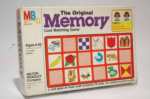 a description of the card game memory Buy original memory: board games product description original memory amazoncom my biggest complaint with this game is the size/shape of the cards.