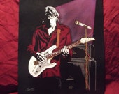 "Steve Vai is a Limited Edition, Numbered,10""x13"" Print of the Original Art by Artist Charles Freeman"