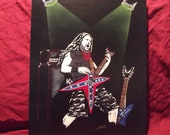 "Dimebag Darrell in Art is a Limited Edition 10""x13"" numbered Print of the Original Painting by Artist Charles Freeman"