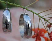 PRIVATE LISTING for Junie1262-Silver Bangle Earrings from Taxco Mexico