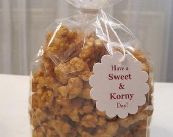 10 Sweet & Korny Carmel Corn Favors