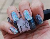Rainbow Dash Glitter Nail Polish Full Size