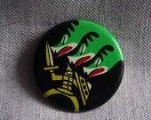 Vintage USSR pin - fairytale dragon slayer
