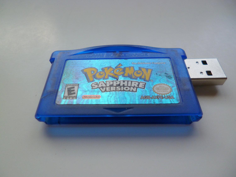 Pokemon Sapphire 8 Gb USB 2.0 Flash Drive Gameboy by