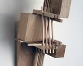 """Sculpture, Art : Construction 18, """"Musician"""""""