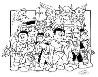 Justice League Tribute