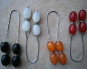 GREEK BEGLERI  Metal Chain & resin Beads Turkish Tasbih Tesbih Kabbalah komboloi Greece Worry Beads