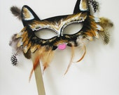 Halloween, Masquarade or dress up mask for either children or adults.