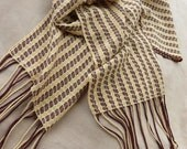 Pin wheel Scarf 1. Handwoven summery attractive scarf of 100% cotton