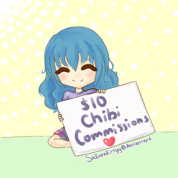 Chibi Digital Commission