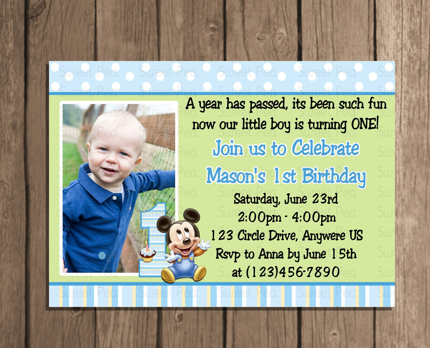 Birthday invitation card for baby boy idealstalist birthday invitation card for baby boy stopboris Image collections