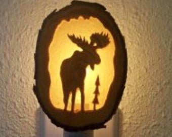 Moose nightlight