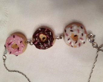 Mmmmmmmm Donut strand necklace or bracelet