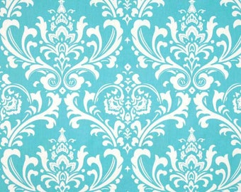 30 Inches of Ozborne Girly Blue Twill Fabric - Premier Prints Fabric