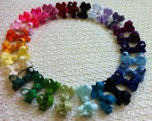 8 Pack Baby Boutique Hair Bows - 1.75 Inch Non Slip Hair Clip - Babies, Toddlers, Girls