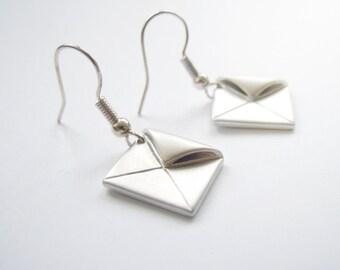 Romantic Envelope Earrings