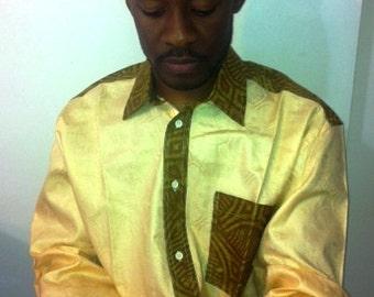 African Trim Shirt