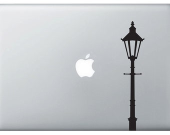 Lamp Post vinyl decal