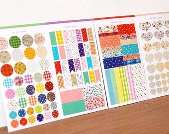 Vintage Deco Stickers - 4 sheets