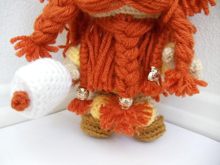 Norse/ Viking Sackboy Amigurumi Crochet doll by YarrrnIt ...