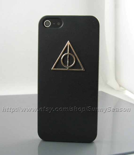 harry potter iphone 5 case items similar to iphone 5 black harry potter deathly 1673