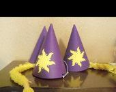 Rapunzel Party Hats