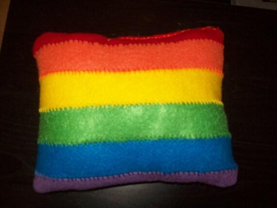 Gay Pride mini pillow