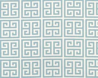 Handmade Curtain/Window Valance 50W x 15L  in Village Blue Towers 100% Cotton