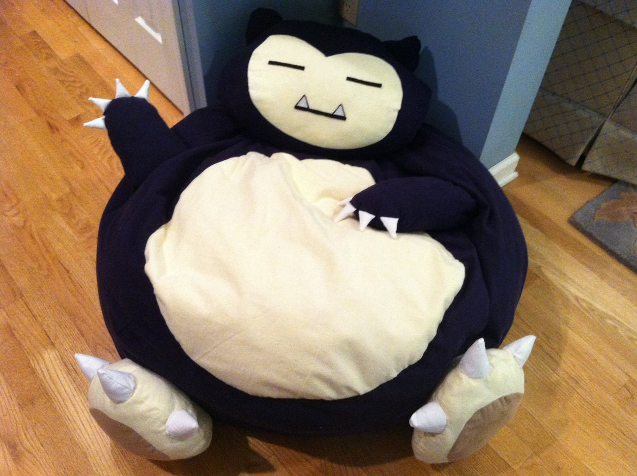 Snorlax Pokemon Full Size Bean Bag Chair By Ageekboutique