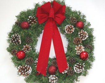 Custom Xmas Wreath