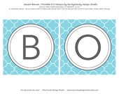 Printable Gender Reveal Banner - Pastel Blue or Pink Party Collection - EyeCandy Design Studio