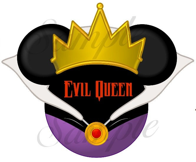 Snow White Evil Queen Silhouette Evil Queen Character Snow