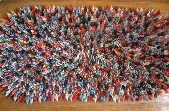 double knit confetti shag rug