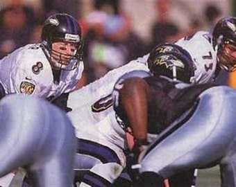 Great Baltimore Ravens Trent Dilfer Art Print