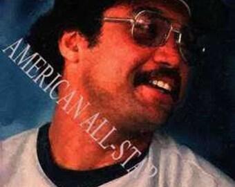 Rare Reggie Jackson New York Yankees Art 12x18 LE 50