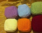 Crochet Soft Baby Blocks