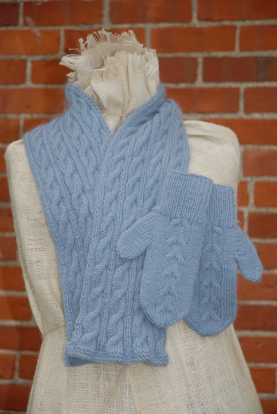 Knitting Patterns For Scarves And Mittens : Knitting Patterns - AndreaWongKnits