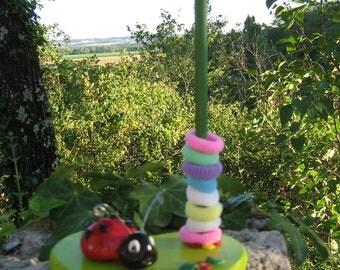 Door darlings Ladybug cold porcelain