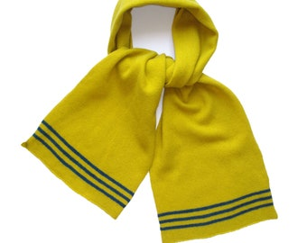 Piccalilli Lambswool Knitted Scarf