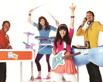 Fresh Beat Band with Instruments T-Shirt Iron on Transfer w/FREE Personalization and FREE SHIPPING
